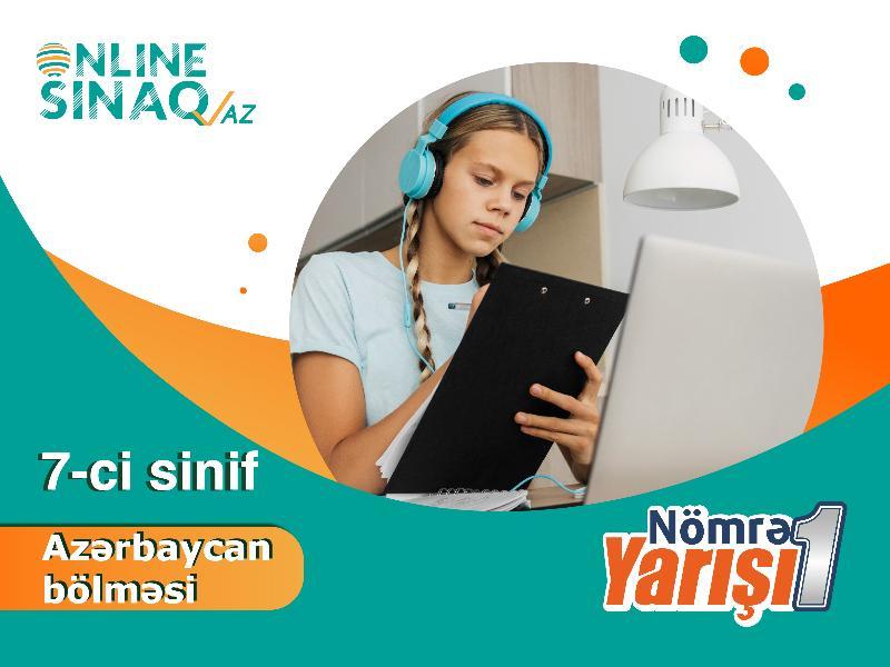 7-ci sinif Nömrə 1 Yarışı - Azərbaycan bölməsi