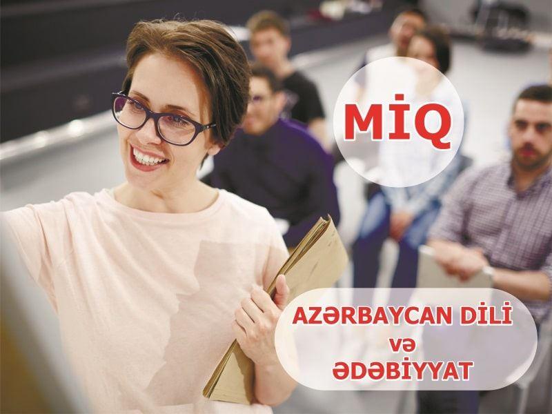 MİQ - Azərbaycan dili və Ədəbiyyat