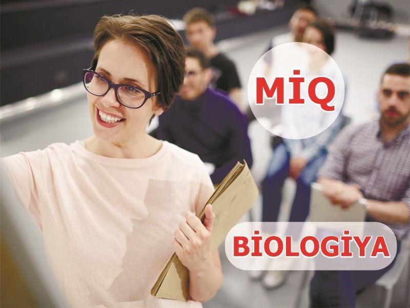 MİQ - Biologiya