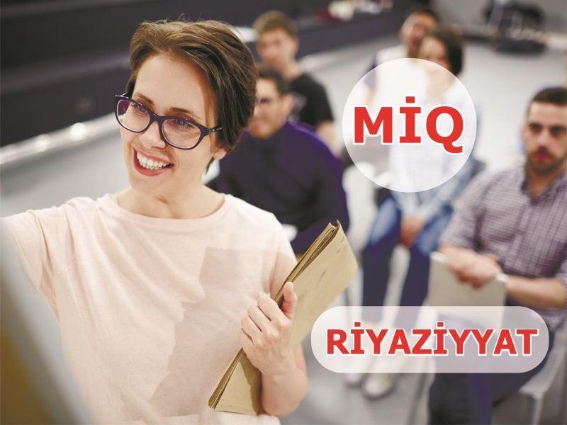 MİQ - Riyaziyyat