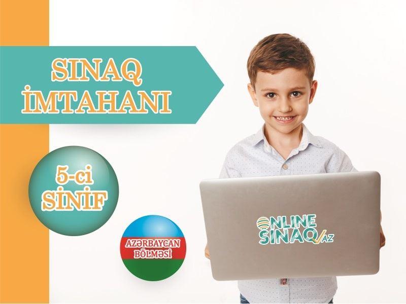 """5-ci sinif """"Sınaq imtahanı"""" TƏLTİFNAMƏLİ"""