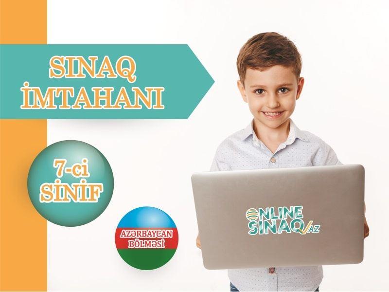 """7-ci sinif """"Sınaq imtahanı"""" TƏLTİFNAMƏLİ"""