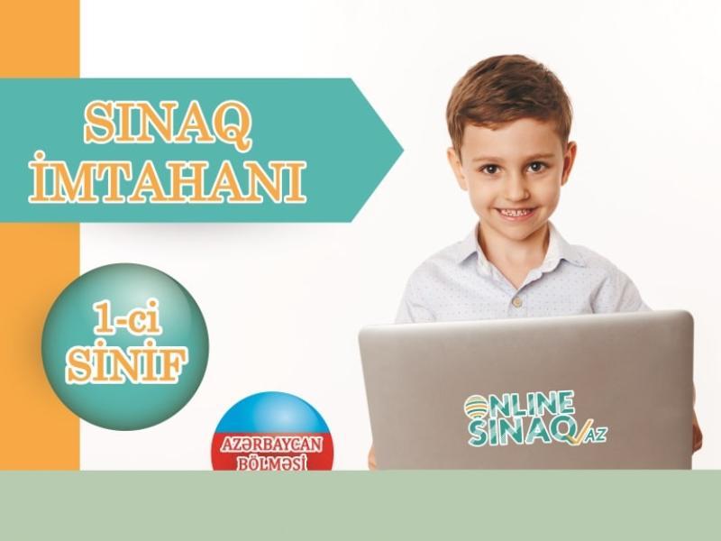 """1-ci sinif """"Sınaq imtahanı"""" TƏLTİFNAMƏLİ"""