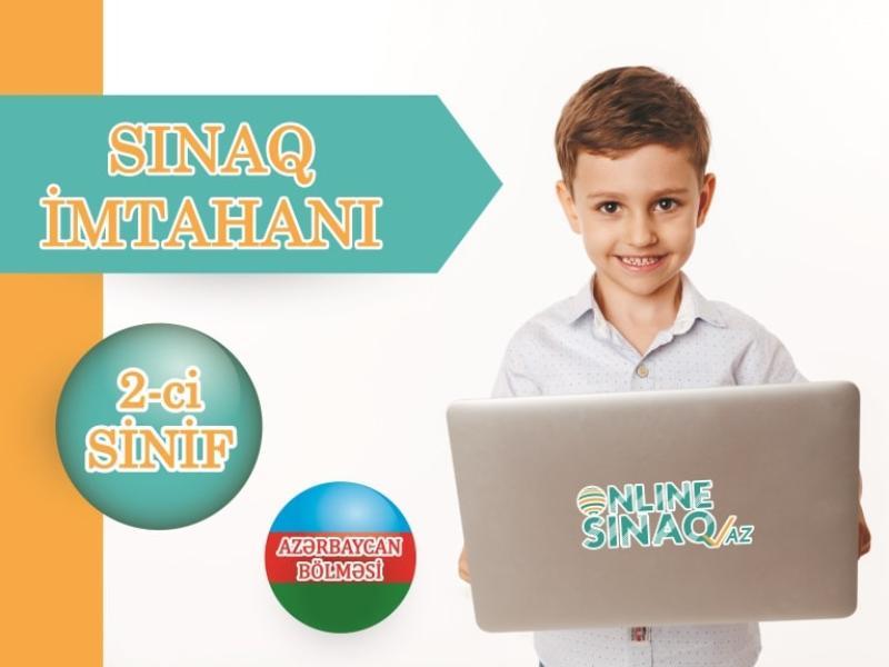 """2-ci sinif """"Sınaq imtahanı"""" TƏLTİFNAMƏLİ"""