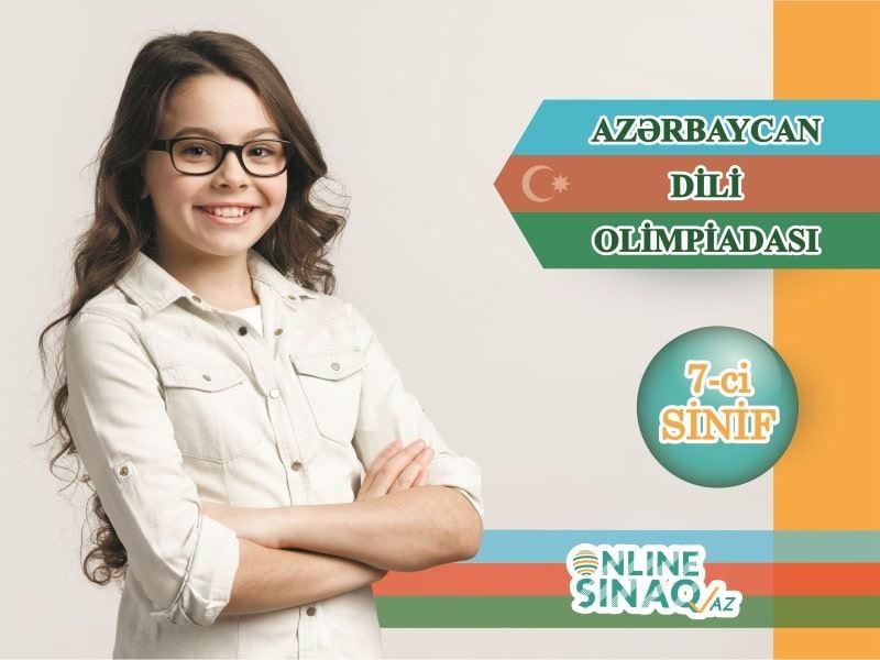 7-ci sinif Azərbaycan dili olimpiadası