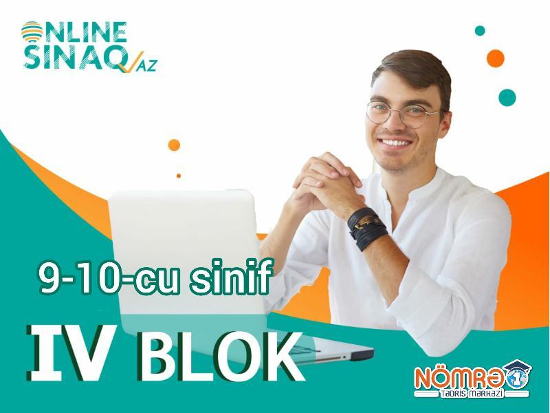 9-10-cu sinif IV BLOK