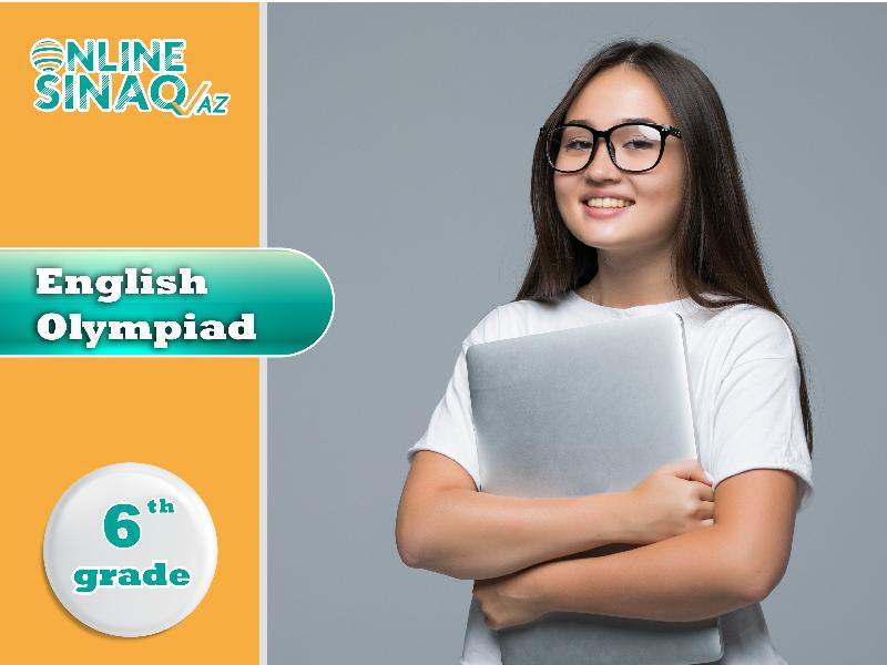 English Olympiad 6th Grade