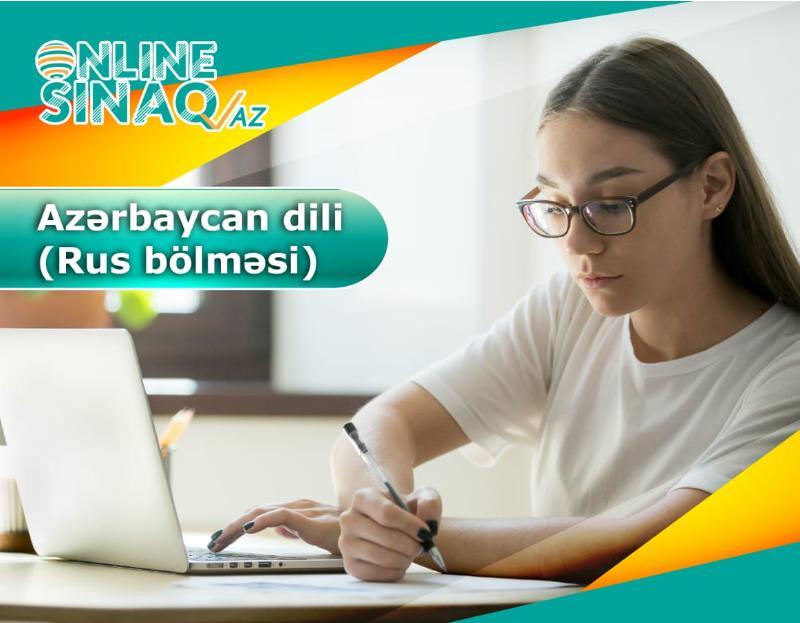 Azərbaycan dili (Rus bölməsi)